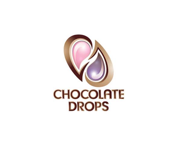 chocolates-drops-Kuwait-logo-design