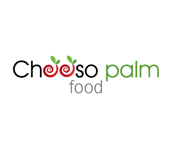 chooso-palm-food-logo-designer
