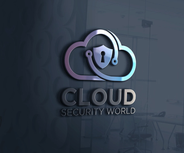 cloud-security-world-logo-design