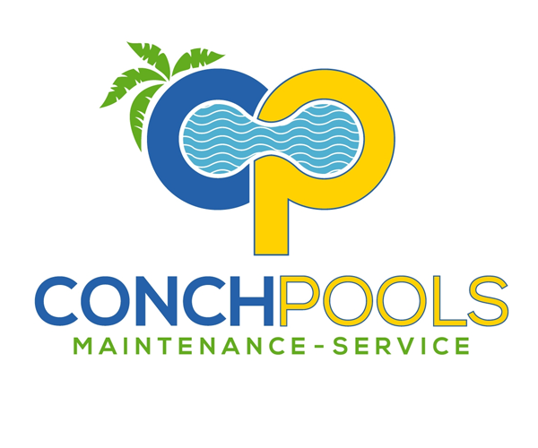 conch-pools-maintenance-logo-design