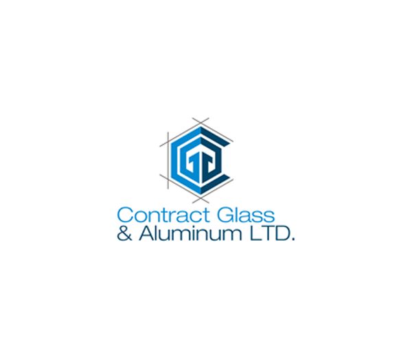 contract-glass-aluminum-ltd-logo-design