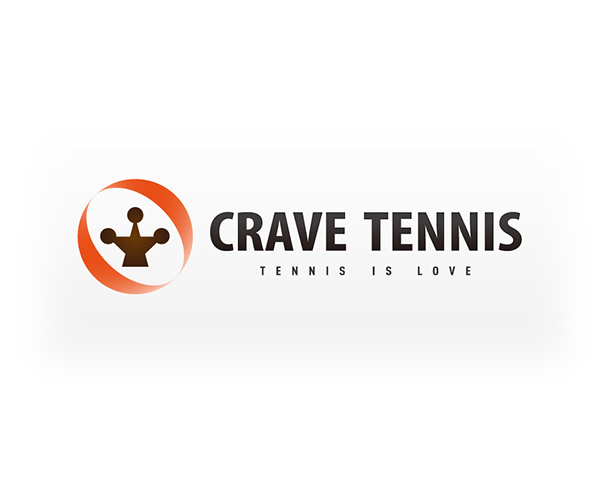 crave-tennis-lover-logo-design