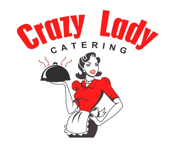 crazy-lady-catering-logo-design