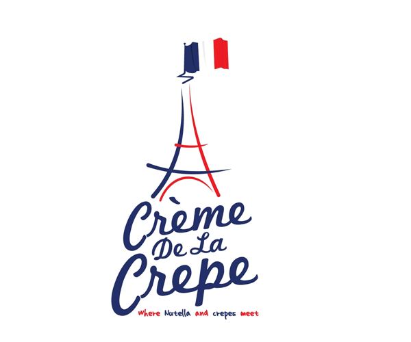 creme-da-la-crepe-logo-design