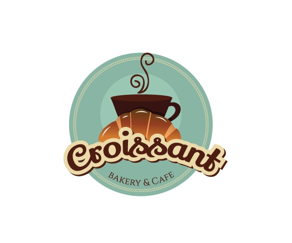croissant-bakery-and-cafe-logo-design