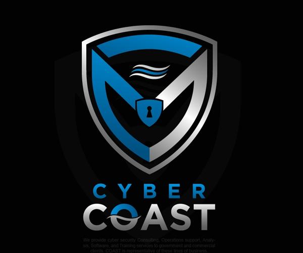 cyber-coast-logo-design-free