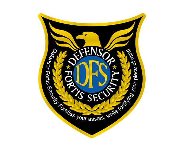 defensor-fortis-security-logo-design