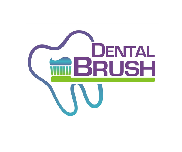dental-brush-logo-design