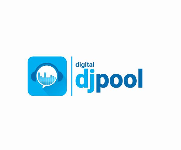 Digital Dj Pool Logo Design Inspiration