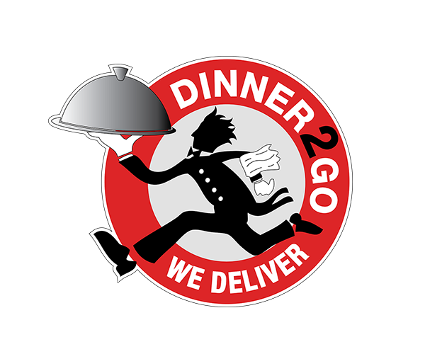 dinner-2-go-logo-design-for-delivery-boy
