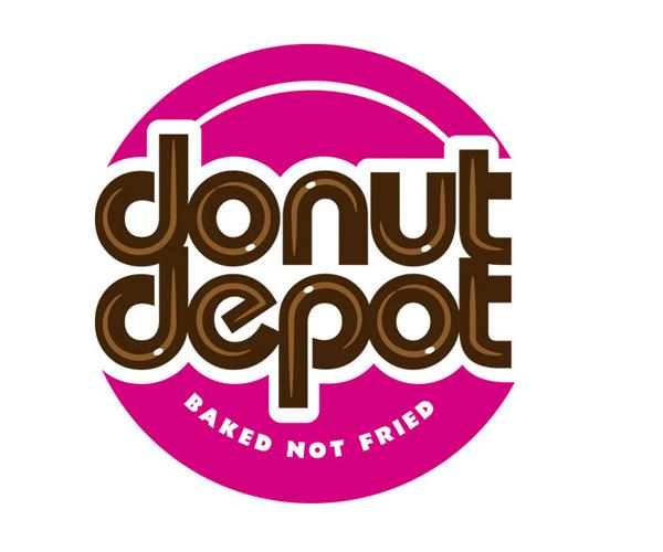 donut-depot-logo-design-sample-for-food
