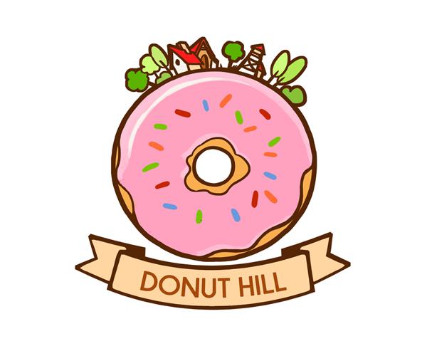 donut-hill-logo-deisgn