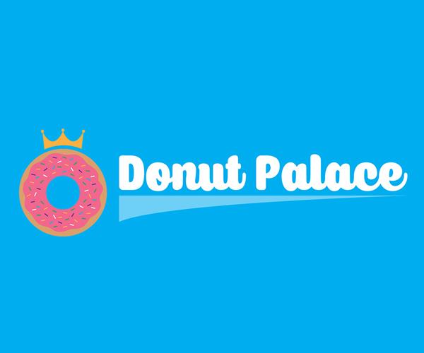 donut-palace-logo-design
