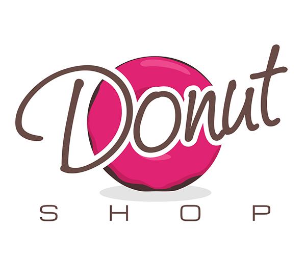 donut-shop-logo-design