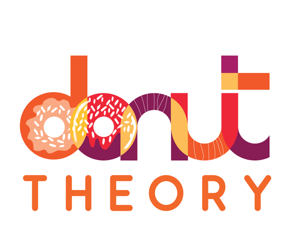 donut-theory-logo-design