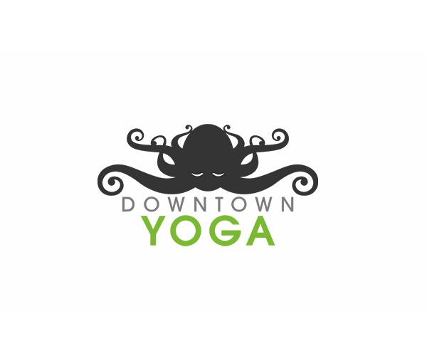 downtown-yoga-logo-designer