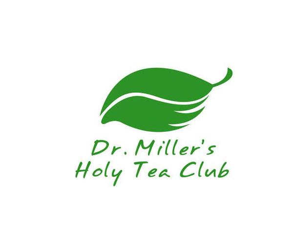 dr-millers-holy-tea-club-logo-design