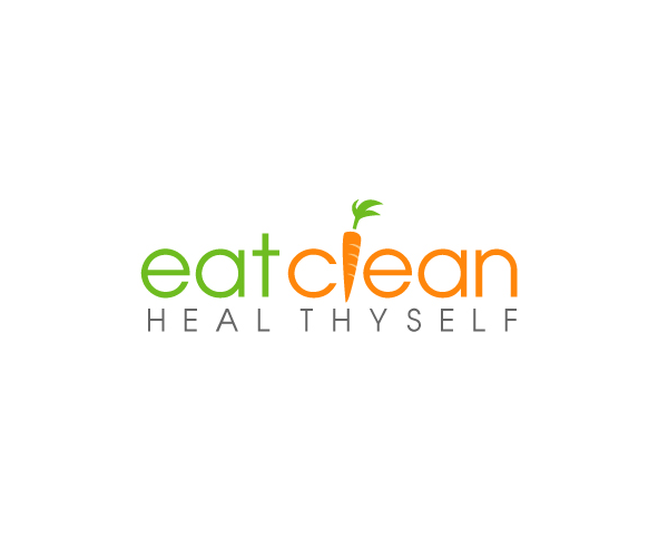 eat-clean-logo-design