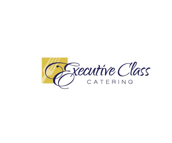 executive-class-catering-logo-designer