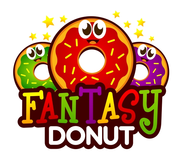 fantasy-donut-logo-design