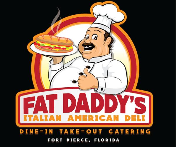 fat-daddys-italian-american-deli-logo-design
