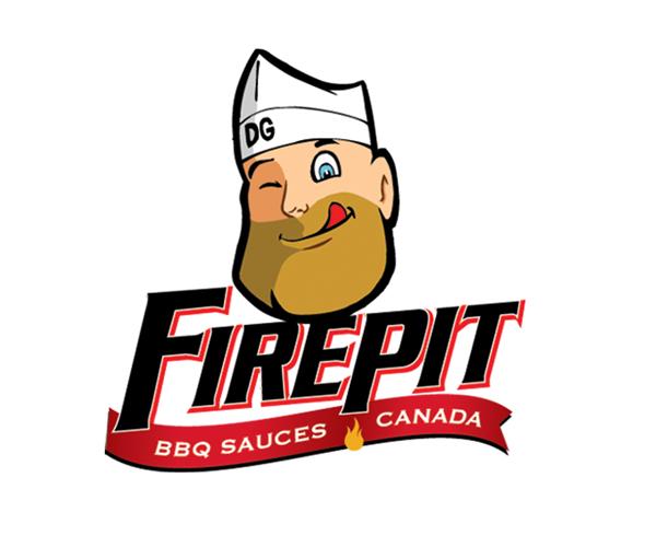 firepit-bbq-sauces-canada-logo-design