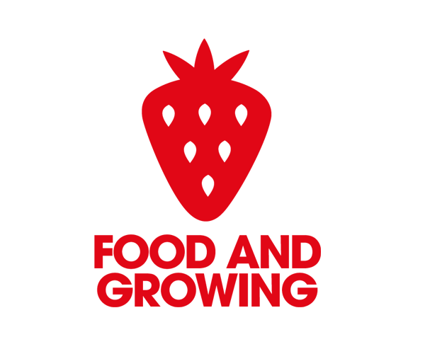 food-and-growing-logo-design