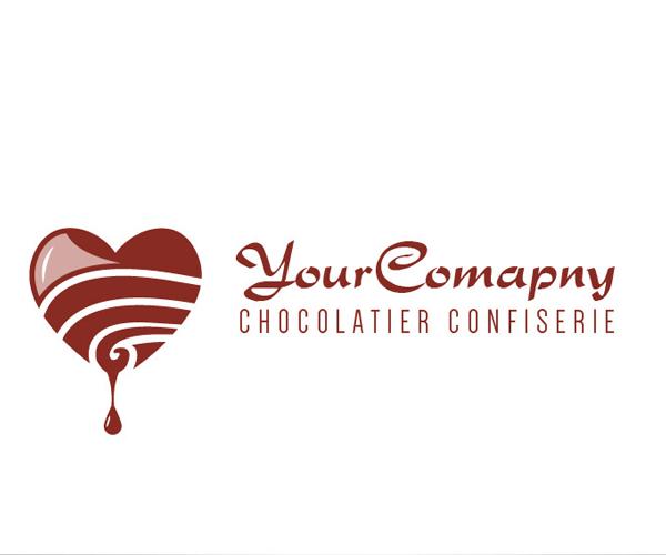 free-chocolatier-company-logo-design-download