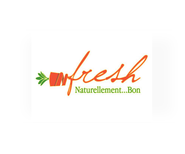 fresh-naturellement-bon-logo-design