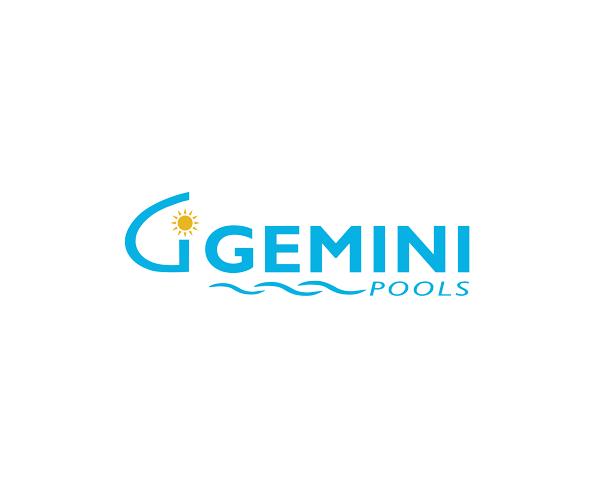 gemini-pools-design-logo-free-download