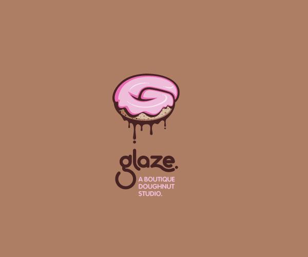 glaze-doughnut-studio-logo-design