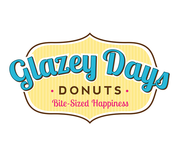glazey-days-dounts-logo-design