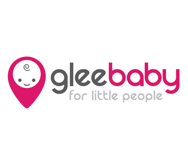 glee-baby-logo-design