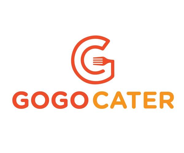 gogo-cater-logo-design