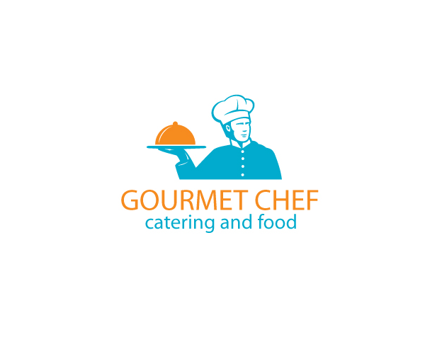 gourmet-chef-catering-and-food-logo-design