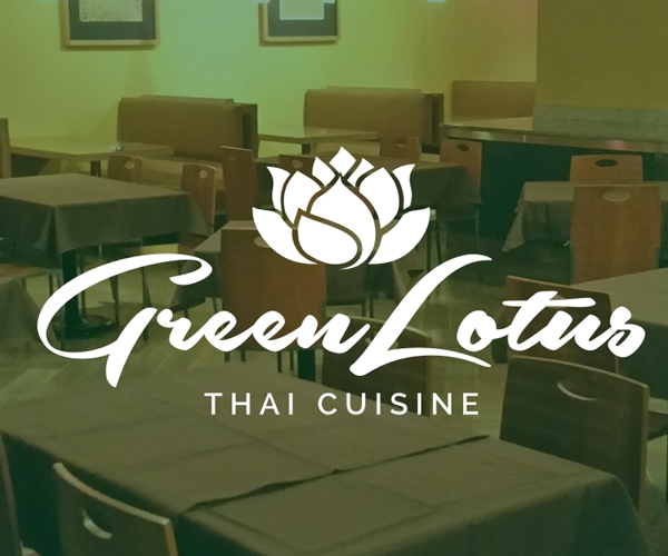 green-lotus-thai-cuisine-logo-design