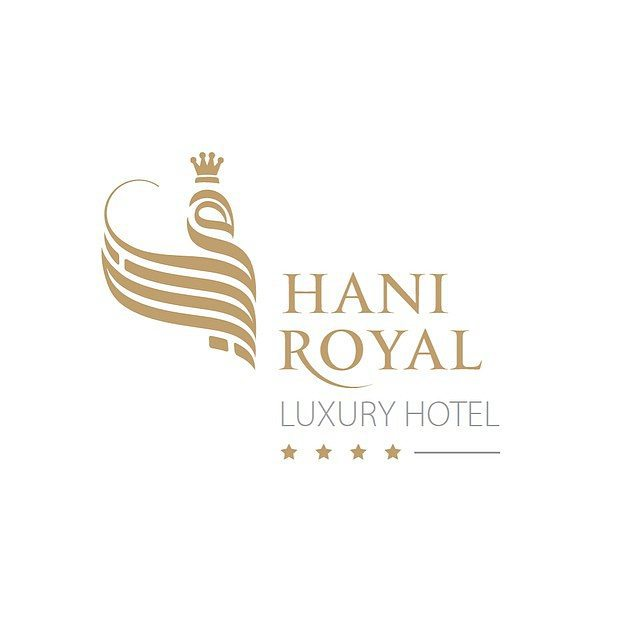hani Royal Hotel Logo In Calligraphy