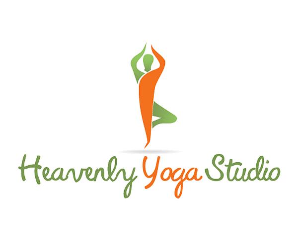 heavenly-yoga-studio-logo-designer