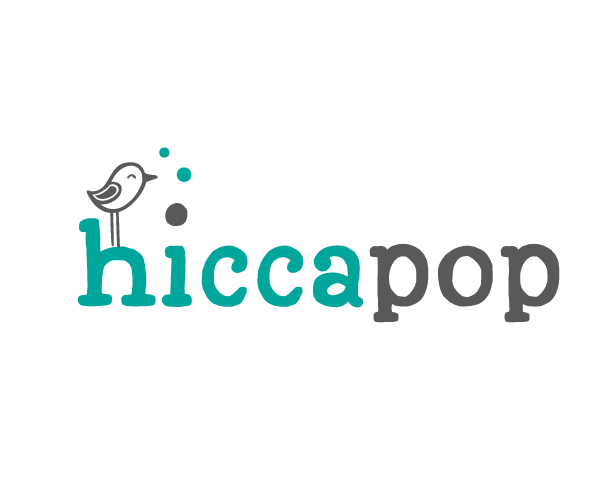 hicca-pop-baby-product-logo-design
