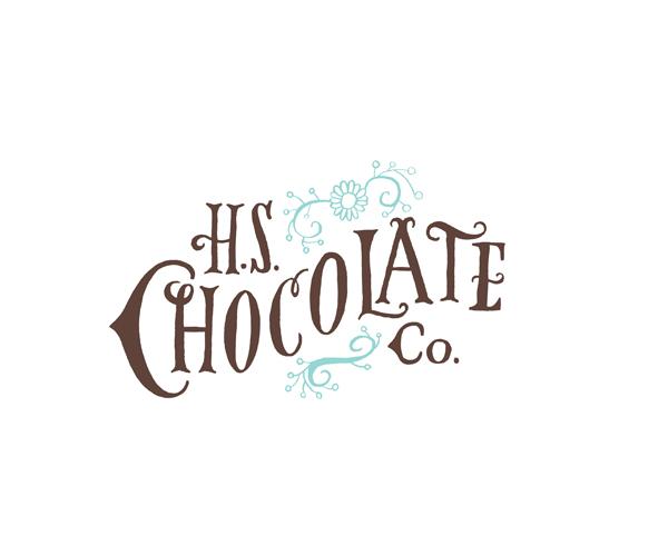 hs-chocolate-company-logo-design-idea