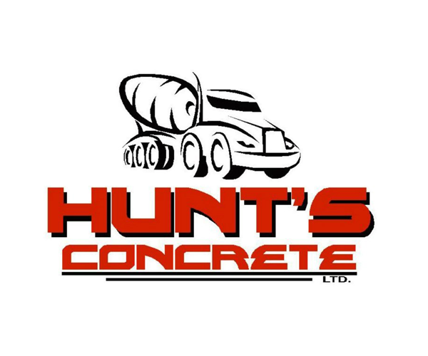 hunts-concrete-logo-design