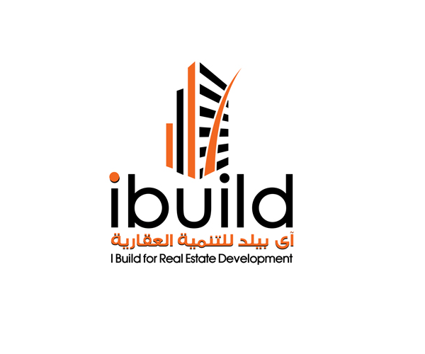 i-build-real-estate-dev-logo-design