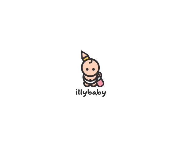 illybaby-logo-design