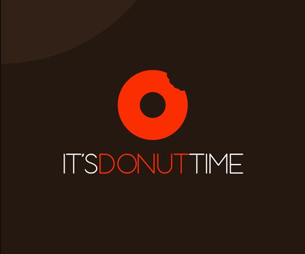 its-donut-time-logo-design-idea