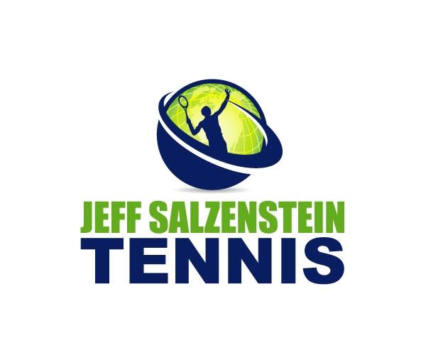 jeff-salzenstein-tennis-logo-design