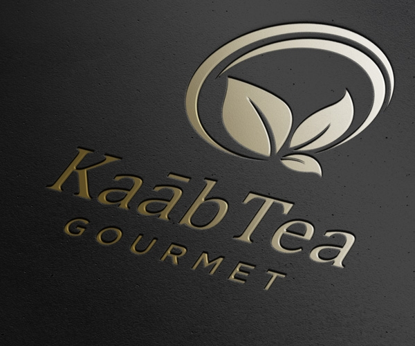 kaab-tea-gourmet-logo-design-idea