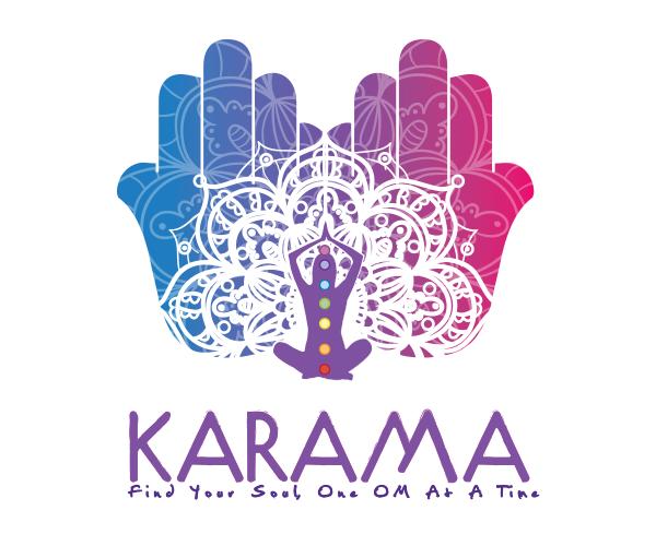 karama-logo-deisgn-for-yoga-studio