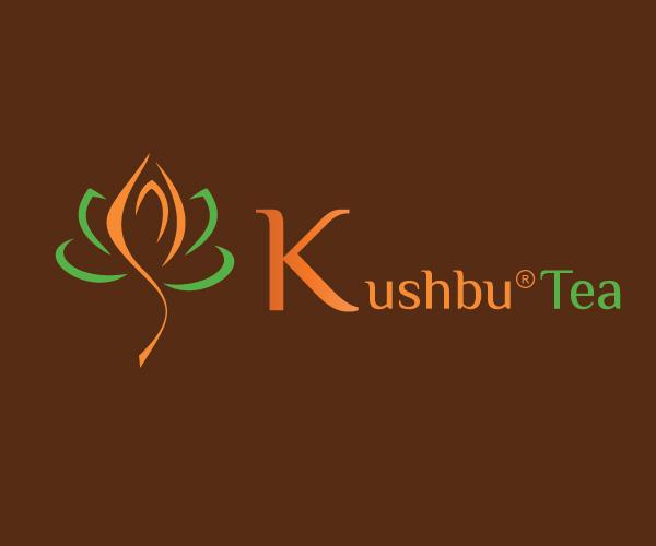 kushbu-tea-logo-design