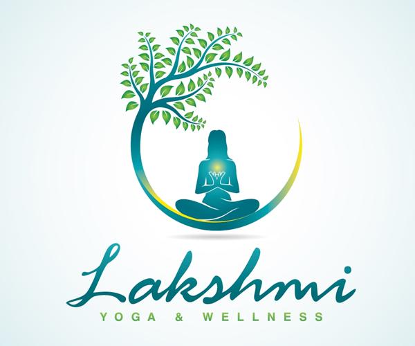 lakshmi-yoga-and-wellness-logo-design