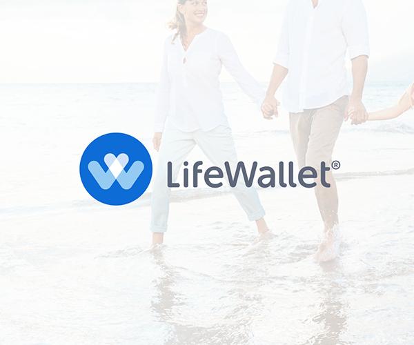 life-wallet-logo-design